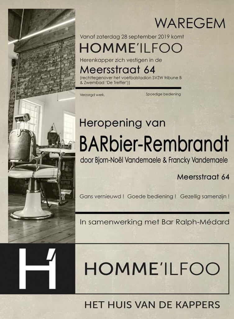 heropening van barbier rembrandt