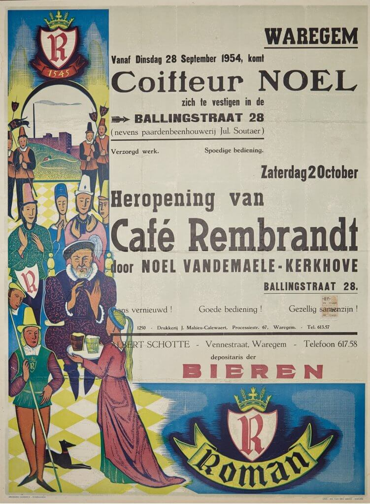 heropening van Café Rembrandt Coiffeur Noel